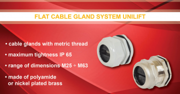 zdjęcie Glands for flat cables UNILIFT